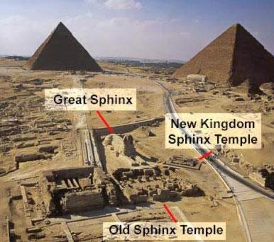 sphinx e i suoi tempio