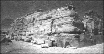 Valle di chefren, tempio