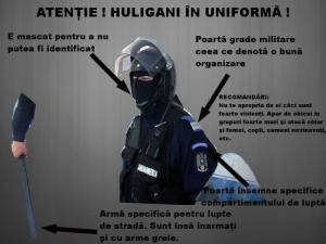 huliganii in uniforma