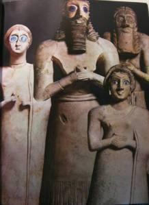 sumerienii cu ochii blu