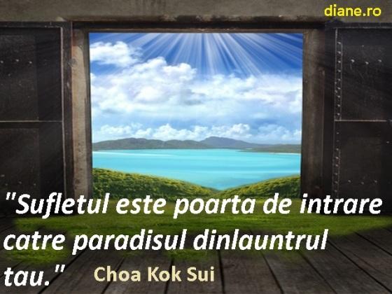 Sufletul este poarta de intrare