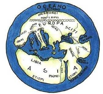 mappa Ecateo V-VI secolo ac