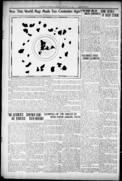 mappa hawaian gazet 1907