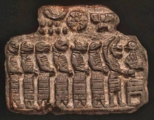 dei sumeriani rettile